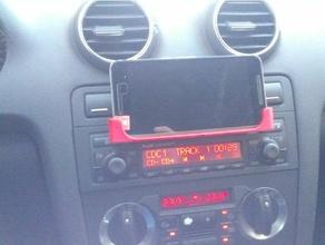 cd-Auto slot-nexus-6p huawei p9 lite Halter Handy audi a3 Auto Fall dock Halter huawei p9 lite iphone mount nexus 6 Telefon slot smartphone stand Unterstützung toyota yaris