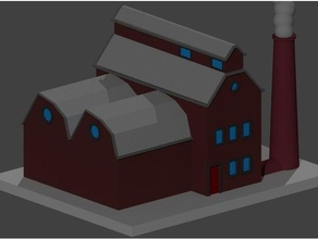 small factory decor building factory house small small factory small building small house