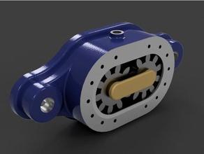 gear pump engineering 3dprintable engineering engineeringproject fusion 360 gear gears gear pump hydraulic pump oil pump pump university