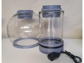 acetone vapor chamber 3d printer accessories 3d printer abs acetone acetone vapor bath acetone vapour bath smooth vapor vapor bath