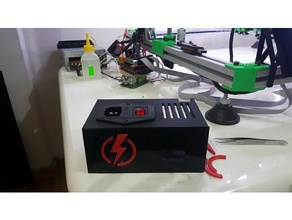 power cover 3 pin power socket 3d printing case modding power powersupply power case supply power supply power supply case power supply cover power supply mount psu cover psu mount