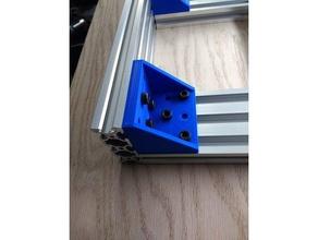 2060 - 2060 extrusion bracket 3d printer parts 2020 2020 aluminum 2020 extrusion 2020 mount 2020 v-slot extrusion 2040 2040 extrusion 2060 20x20 20x20mm 20x20 aluminum 20x20 extrusion 20x40 3d printer aluminum aluminum extrusion aluminum profile brace bracket cnc cnc machine cnc router connector corner bracket extrusion mounting bracket