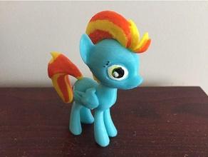mlp pony lightning dust toys & games mlp pony model my little pony pony