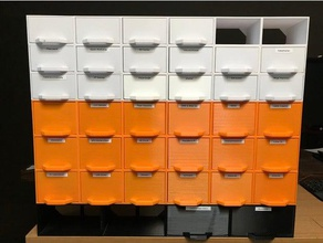 multi box storage system rack containers box boxrack cases container drawer mini drawers organizer part storage rack screw screwbox small parts small parts storage storage storage box storage container system