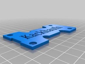 x210 qav-x attachment kit vtx rx lipo strap stack 3d printing fpv vtx realacc x210 vtx vtx antenna holder vtx holder vtx mount x210 x210pro