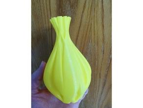 sinew vase 1 sculptures art cool vase flower vase onshape sculpture spiral vase spiral vase printing twisted twisted vase vase vases