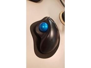 m570 mouse pad office foam laser lasercut logitech m570 m570 mouse mousepad trackball