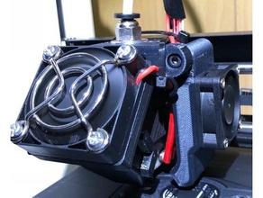 e3d v6 30mm layer fan 3d printer accessories 30mm 30mm fan 30mm fan duct 30mm fan mount 30mm fan shroud cooling fan e3d hotend ed3 ed3v6 ed3 v6 fan fan duct fan shroud layer fan monoprice select mini