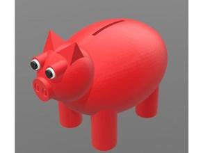 piggy bank w removable leg containers animal animals bank barn animal cool farm kool pig pig bank piggy piggy bank piggy-banks pigy banks pigy-bank red