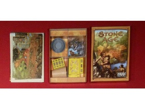 stone age organizer toy & game accessories boardgame boardgames boardgame accessories boardgame inserts boardgame organiser board game board games board game accessory board game insert board game organiser board game organizer box insert insert organizer stoneage stone age stone age board game