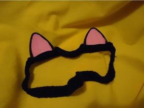 cat ears sewing loops costume cat costume cat ear cat ears costume cat ears kitty ears