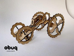 dirt buggy 2 construction toys 3d puzzle 3mm bust car dirt dirt-buggy dirtbuggy dirt buggy laser laser-cut laser-cutter laser-cutting lasercut lasercutter lasercutting laser cut mdf obuq obuqdesign obuq design plywood puzzle toy wood