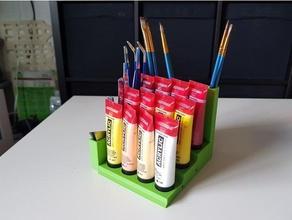 paint holder brush holder tool holder art tools holder paint paint brush paint brush holder paint holder paint bottle tool holder