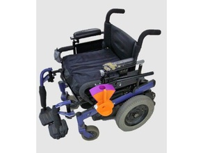 wheelchair-mounted dog treat dispenser pets accessibility assistance assistance dog disability disabled dispenser dog pet service animal service dog treat treat dispenser wheelchair wheel chair