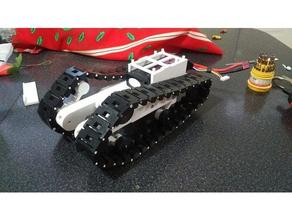 servo driven tracked rover w suspensions remixed r c vehicles arduino belt caterpillar fpv radio control raspberry raspberry pi robot robotics rover servo suspensions tank tracked robot tracked vehicle