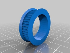 pully - 608 bearing id 22mm od 281mm w 89mm 3d printing 608 bearing pully v belt pully