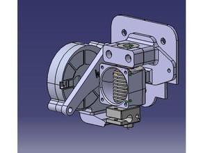 tronxy e3d v6 holder part cooling mount 3d printer parts e3d e3d hotend e3d v6 tronxy tronxy p802 tronxy p802e tronxy p802m tronxy x1 tronxy x3 tronxy x5