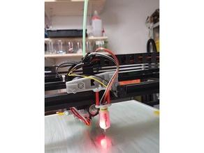 tronxy x5s - Gürtel z Endabschalter mount 18mm Sonde zu unterstützen 3d-Drucker Teile 3dtouch Gürtel Gurt-Spanner bltouch die Sonde tronxy z-probe