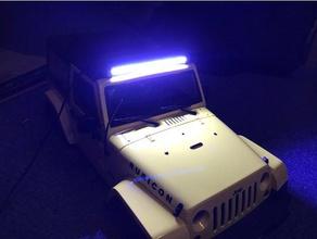 rc car led lightbar jeep jk 1 10 r c vehicles 1 10 axial easy jeep jeep jk jeep wrangler led holder led lightbar led mount light lightbar mount mst open rc rc4wd rc car remote control scx10