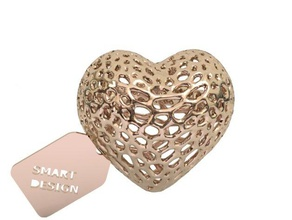ring - voronoi heart rings heart jewelry ring