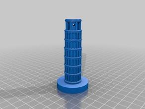 perpendicolare torre di pisa sculture