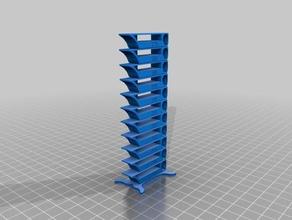 parameterized smart compact temperature calibration tower 3d printing tests temperature temperature calib temperature calibration temperature test temperature tower temp tower