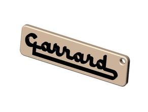 garrard-sidecar-logo als Schlüsselanhänger Schilder & logos
