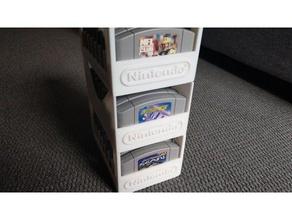 nintendo 64 - 8 cartridge game holder video games n64 n64 cart n64 cartridge n64 holder nintendo nintendo 64 cartridge nintendo 64 holder nintendo 64