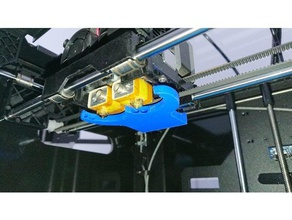 blower turbo flashforge creator pro part cooling duct remix 3d printer accessories cooling cooling duct cooling fan flashforge flashforge creator flashforge creator pro part cooler part cooling part cooling duct part cooling fan