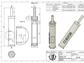 patator inflator 20 diy explosion firearm gas patator pistol weapon