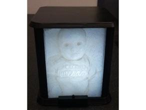 lithograph box light household led light light litho litho box lithograme picture box
