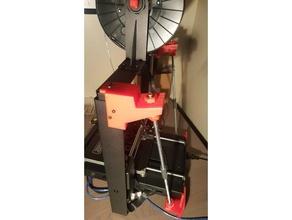 rear mount z brace fo monoprice maker selct plus 3d printer accessories i3 plus maker select maker select plus monoprice maker plus mp maker select plus rear z-brace rear z brace z-braces z brace z mod