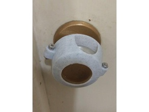 child safety door knob cover - modified georgian door knob replacement parts child proof child proofing child safety door door handle door knob