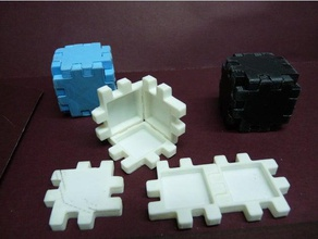 cube arm interactive art 3d puzzle cube cubo interactive interactive art puzzle rompecabezas