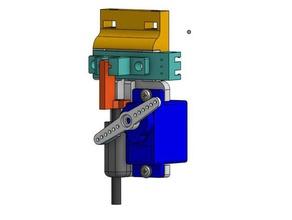 diy-Sonde optiservo z-probe-sensor - 18mm Montage 3d-Drucker Teile 3dtouch autobedleveling die Standardebene bed leveling bltouch diy marlin optischer sensor repetier servo tronxy x5s z-probe