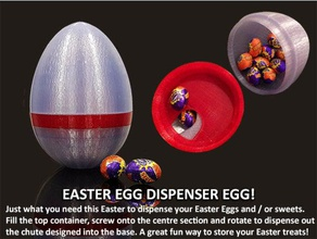 easter egg dispenser egg containers design novelty box bunny candy celebration chocolate clever container dispenser dispenser egg easter easter eggs easter- egg easter bunny easter egg easy easy print egg eggs festive fun funny holiday home household jar jelly beans kitchen lollies lolly jar novel popular season storage storage box sweets sweets bowl sweets jar unique