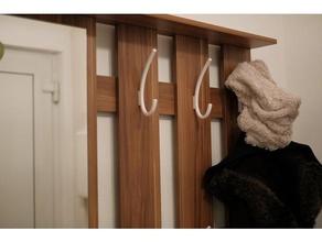 wardrobe hook household spline wardrobe wardrobe hook