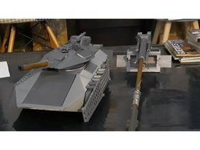cetectm def conqueror v6 rc tank not completed 3d printing tank tank rc tanks