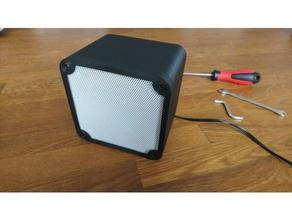 simple speaker box audio audio home audio speaker speaker box speaker enclosure speaker mount speaker stand stereo