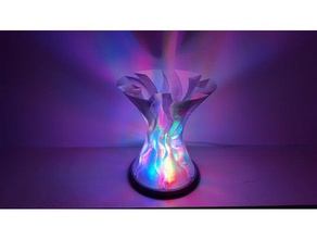 parabolic wave carved lampshade decor lamp lamps lampshades lamp shade lamp shades led lamp spial vase mode spiralized spiral mode spiral vase spiral vase mode vase vase mode vase mode printing