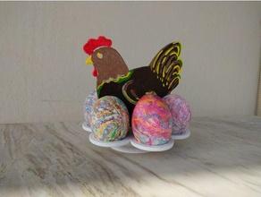 easter egg chicken holder decor decor decoration easter easter basket easter design easter egg easter eggs easter egg display easter egg holder easter egg stand