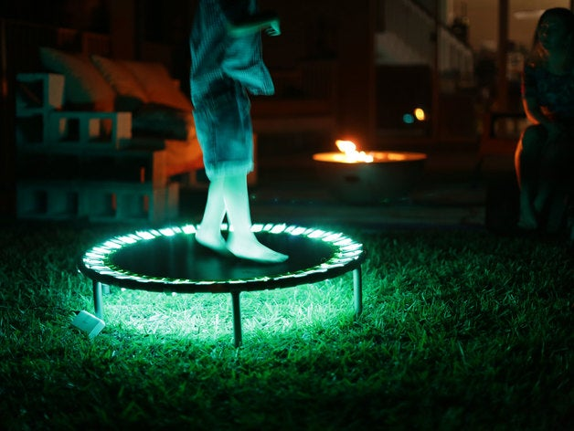 led trampoline neopixels
