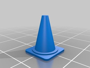mini pylon dr ft - 1 43 1 43 3d printing 143 autodesk fusion 360 cr-10 dr ft drift duetwifi pylon simplify3d traffic cone