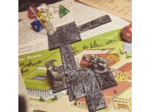 pocket sized dungeon tile