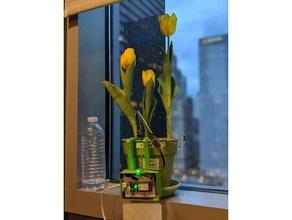 pachamama plant monitor case electronics dash flower hologram hologram dash monitor pachamama
