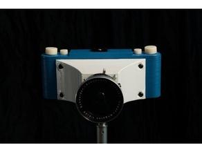 c-pan 6x12 panoramic camera camera 6x12 camera diy diy camera fusion 360 lens medium format panoramic camea pinhole camera