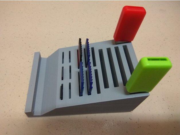 memory card stick storage