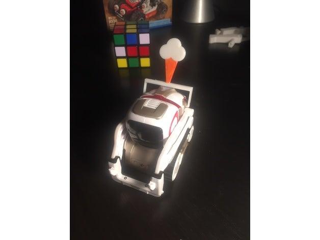 cozmo robot ice cream con