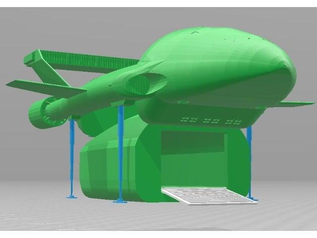 thunderbird 2 pod vehicle