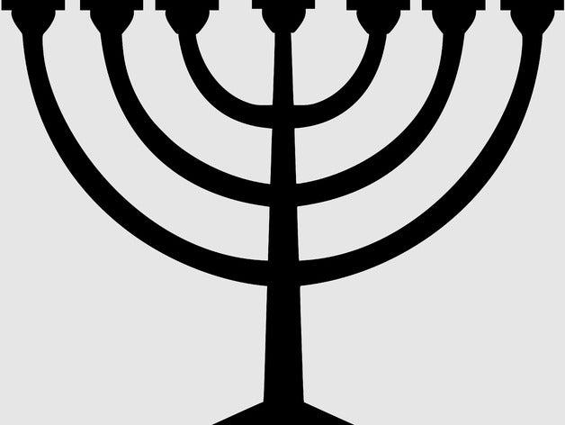 menorah temple israel fas